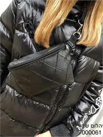 Bag - B פאוץ' - יהלום שחור