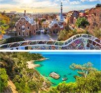 טיול מאורגן ל-5 ימים בברצלונה וקוסטה ברווה החל מכ-$547*