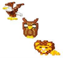 משחק הרפתקה 140 קוביות מוארות LIGHT STAX, תואם גודל קוביות LEGO - משלוח חינם!