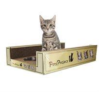 ספת גרוד מלבנית מפוארת לחתול
