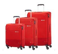 סט מזוודות 3 גדלים Base Boost - צבע לבחירה