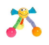 ג'אמפי - דמות חייכנית עם רגליים קלות וגמישות לעידוד שכיבה על הבטן והרמת ראש מבית Tiny Love