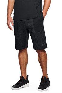 מכנס אימון קצר לגבר UNDER ARMOUR דגם 1309847-001 בצבע שחור