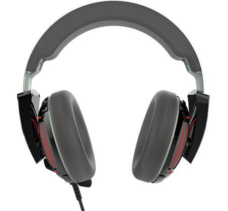 אוזניות גיימרים HEBE 1P למחשב ולקונסולות משחק