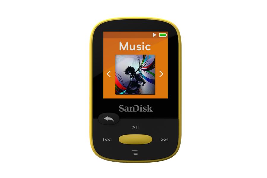 נגן MP3 Sport Clip SanDisk בנפח 8GB עם אחריות לשנתיים SanDisk - תמונה 5