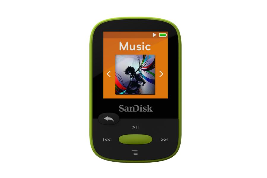 נגן MP3 Sport Clip SanDisk בנפח 8GB עם אחריות לשנתיים SanDisk - תמונה 2