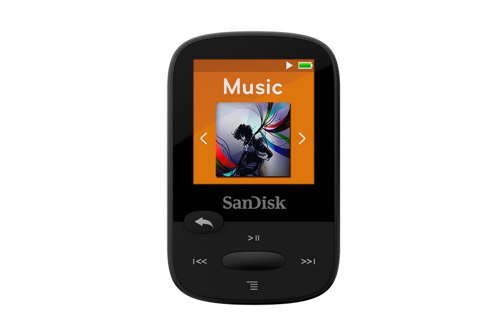 נגן MP3 Sport Clip SanDisk בנפח 8GB עם אחריות לשנתיים SanDisk