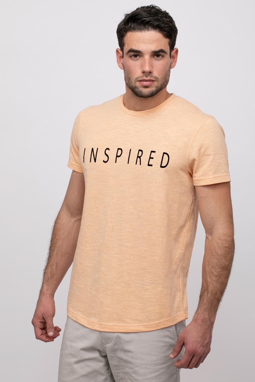 חולצת טי טקסטורה INSPIRED