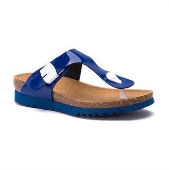 Scholl Boavista - כפכף נוחות אופנתי בצבע כחול רויאל