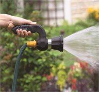 אקדח לחץ מים עוצמתי המדמה פיית השפרצה של צינור כיבוי בעל מספר מצבי השפרצה Minimaxx - משלוח חינם