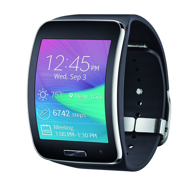 האחרון מחיר בלעדי! שעון יד חכם Samsung Galaxy Gear S SM-R750 עם זיכרון VJ-62