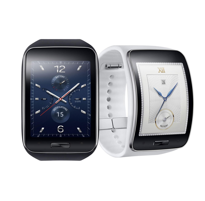 נפלאות מחיר בלעדי! שעון יד חכם Samsung Galaxy Gear S SM-R750 עם זיכרון DC-72