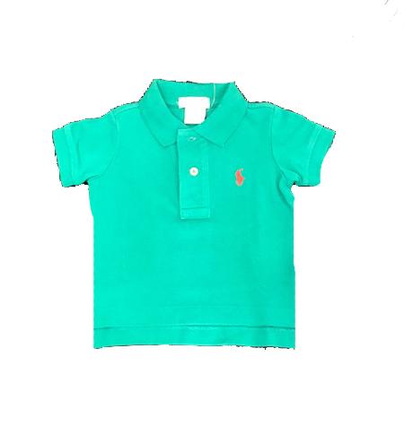 Ralph Lauren / חולצת פולו (3 חודשים- 5 שנים) - טורקיז