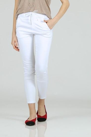 מכנס וגאס לבן