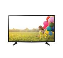 """טלוויזיה """"49 ברזולוציית Full HD עם טיונר דיגיטלי ואינדקס עיבוד תמונה LG 300 PMI - משלוח והתקנה חינם!"""