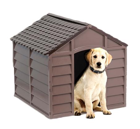 מלונה בינונית מפלסטיק לכלבים