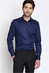 חולצה מכופתרת לגבר DEVRED - כחול נייבי