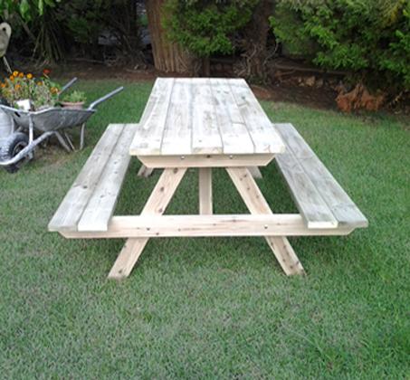 פותחים שולחן פיקניק לחג! שולחן פיקניק מעץ אורן איכותי, החל מ-₪749! - תמונה 2