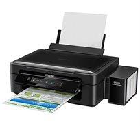 מדפסת הזרקת דיו משולבת אלחוטית עם עלויות הדפסה נמוכות במיוחד Epson L365