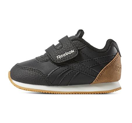 נעלי סניקרס לפעוטות Reebok Royal CLJog 2 KC - שחור/לבן/חום
