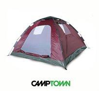 אוהל פתיחה מהירה המתאים ל-2 אנשים מבית CAMPTOWN, נפתח ברגע וללא מאמץ