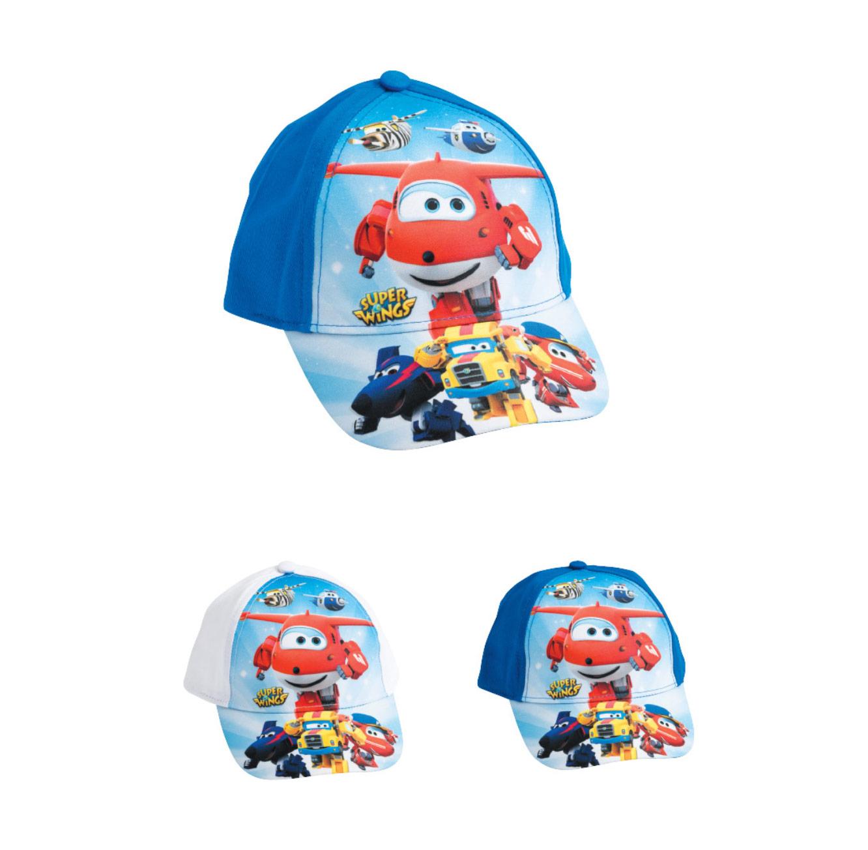 2 כובעי בייסבול מטוסי על לילדים - דגם לבחירה