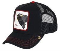 GOORIN יוניסקס// BULL HONKY BLACK כובע מצחיה חיות