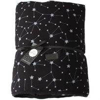 Baby Mitmit שמיכת חורף ענקית לתינוק שחור- Galaxy Collection