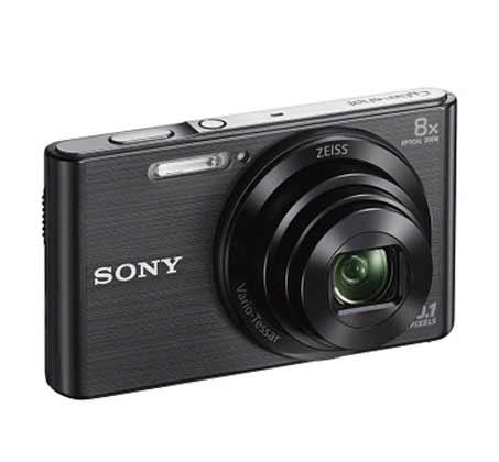 מצלמת סוני סטילס דיגיטלית דגם DSC-W830B צבע שחור