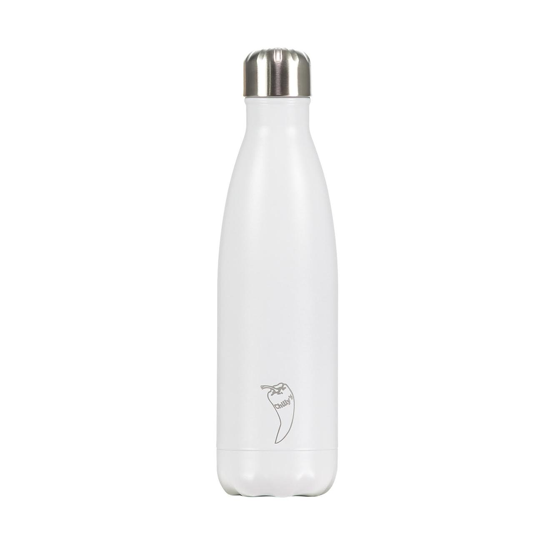 """בקבוק מים 750 מ""""ל Monochrome - לבן"""