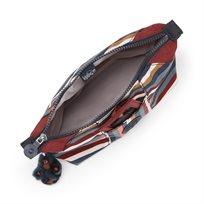 תיק איפור עם מראה Art Pouch - Multi Stripesbi פסים צבעוניים