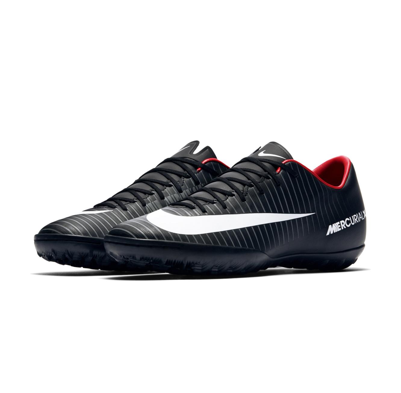 מודרני נעלי קטרגל מקצועיים לגבר NIKE דגם 831968-002 MercurialX בצבעי שחור לבן JY-46