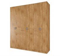 ארון תליה 6 דלתות עם מדפים דגם YUVAL במגוון צבעים לבחירה