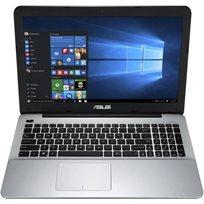 """מחשב נייד 15.6"""" Asus דגם X555da-Wb11 מעבד Amd A10-8700 זיכרון 4Gb דיסק קשיח 500Gb מערכת הפעלה Windows 10 - מוחדש"""