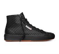 נעלי סניקרס לנשים SUPERGA דגם 2795 QUILTPATENTW בצבע שחור