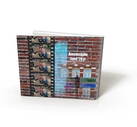 מתנה מרגשת לכל אירוע! אלבום אנכי/פנורמי A4 כרוך בכריכה קשה 32 עמודים - תמונה 3