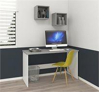 שולחן עבודה ו-2 ריבועי כוורות דגם UNO במגוון צבעים לבחירה