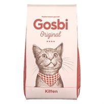 גוסבי מזון לגורי חתולים Gosbi עוף, סלמון וטונה 3 ק''ג
