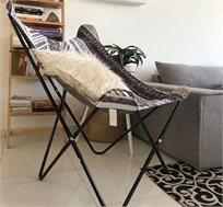כיסא פרפר מבד בצבעים לבחירה