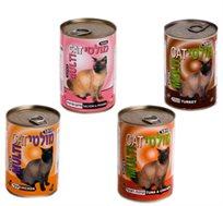 12 שימורי מולטי-קט לחתולים במרקם פטה