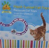 דומי מתקן אטרקטיבי לחתול עם כדור מנצנץ