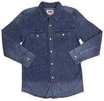 Levi's נוער // Modern Westren Shirt Blue