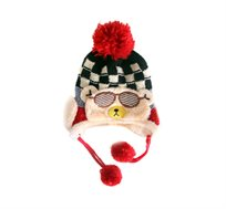 מארז 3 כובעי תינוקות דובי פרוותיים במגוון דגמים