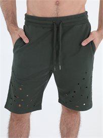 מכנס ברמודה פפה ג'ינס ירוק לגברים