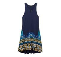 שמלת Valery לנשים - כחול
