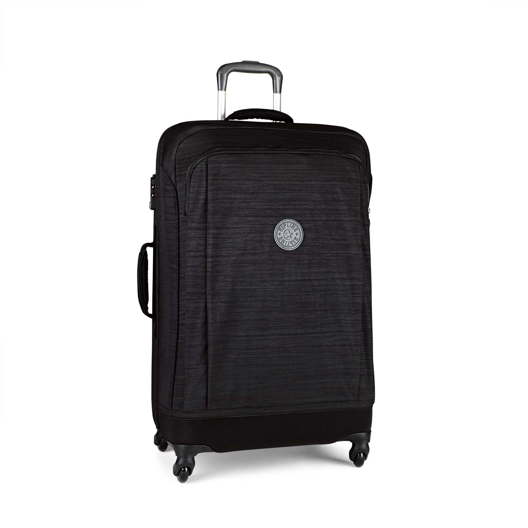 מזוודה בינונית Super Hybrid M - Dazz Black Cהדפס שחור