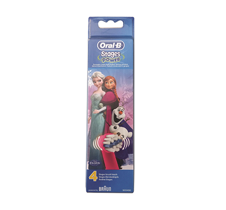 4 יחידות ראשים חשמליים למברשת שיניים נטענת לילדים בשני דגמים לבחירה Oral-B - תמונה 2