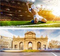 """כרטיס לדרבי ריאל מדריד-אתלטיקו מדריד כולל טיסות ו-3 לילות במדריד ע""""ב א.בוקר החל מכ-€654* לאדם!"""