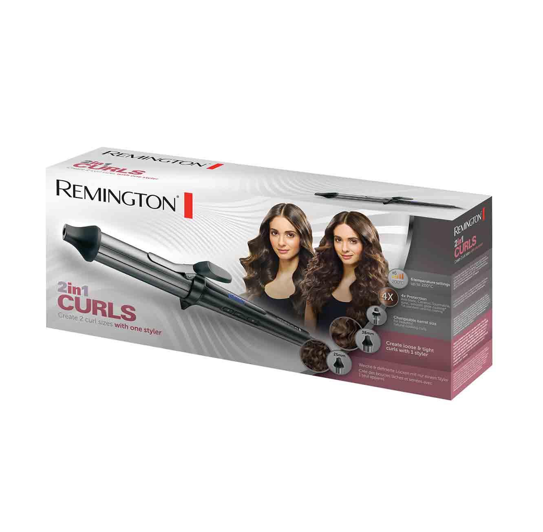 מסלסל שיער Remington דגם CI67E1T 2 in1  מתצוגה - תמונה 2