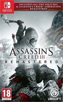 Assassin's Creed Iii + Liberation Hd Remaster Nintendo Switch נינטנדו סוויץ'
